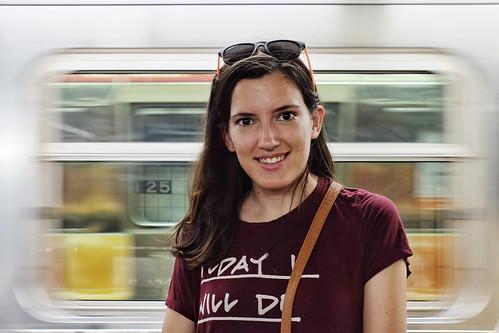Subway adventures with Marta