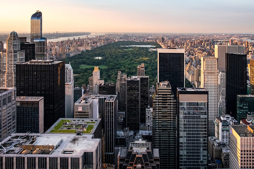 Central Park seen from Top Of The Rock
