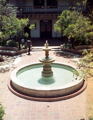 The Fountain in Summer Far
