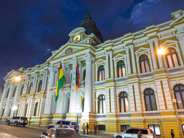 Bolivia's Presidential Palace
