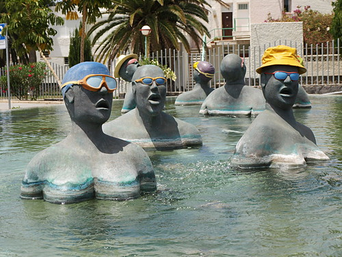 The Bathers Fountain, Costa del Silencio
