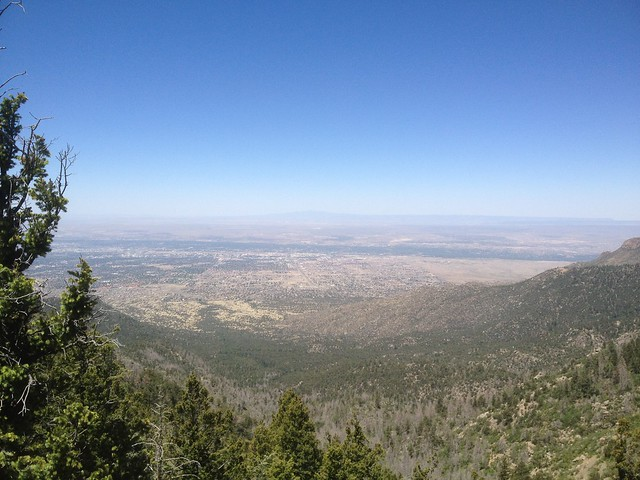 Hiking the Cienega Trail in the Sandia Mountains
