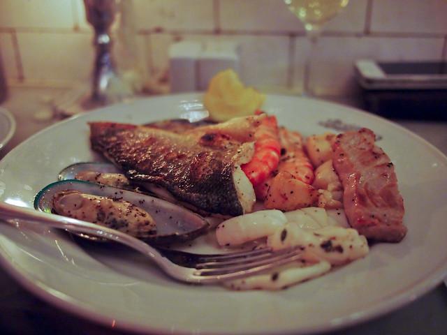 Dinner at Randall & Aubin