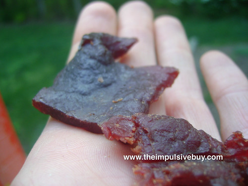 Blue Ox Beef Jerky Closeup 3