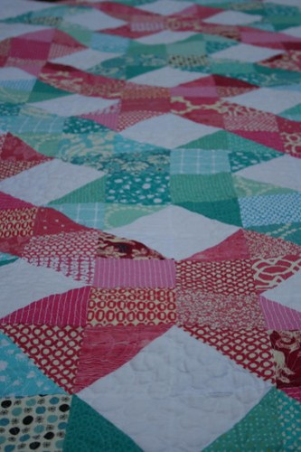 Helix Quilt--so many favorite prints