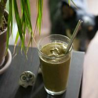 Green Pumpkin Spice Latte Smoothie