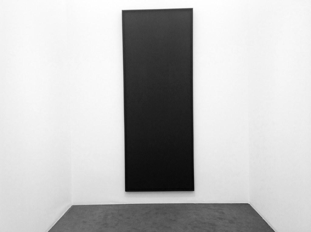 """Abstract Painting"" Ad Reinhardt - FRIEZE MASTERS (PART II), London Photo Aurora Aspen"