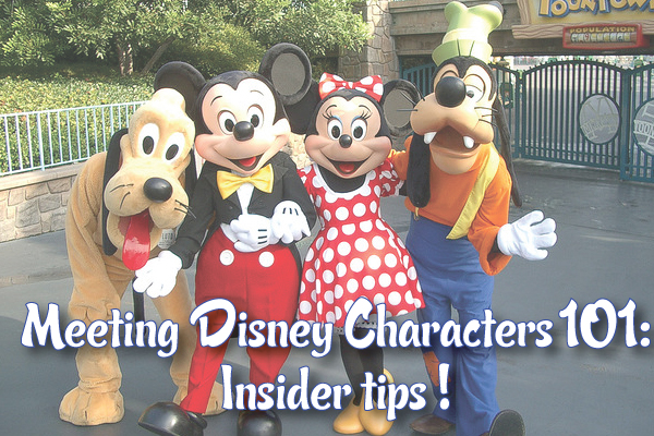 Meeting Disney Characters at Disneyland tips!