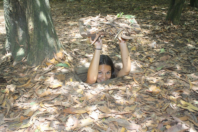 The Cu Chi Tunnels one of the Best Things to do in Vietnam