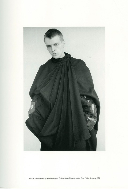 Raf Simons Redux  Robbie. Photographed by Willy Vanderperre. Styling- Olivier Rizzo. Grooming- Peter Philips. Antwerp, 1999.