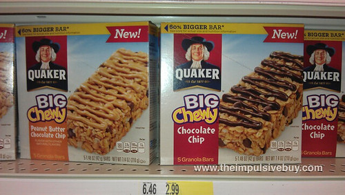 Quaker BIG Chewy Granola Bar