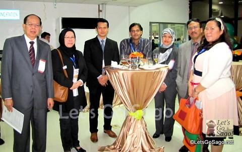 Zest Air and Tourism Malaysia Executives
