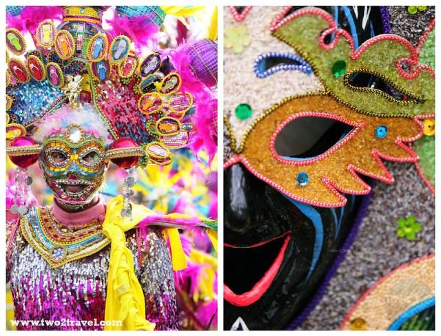 MassKara Festival Bacolod City; Dinagyang Festival, Iloilo City Philippines