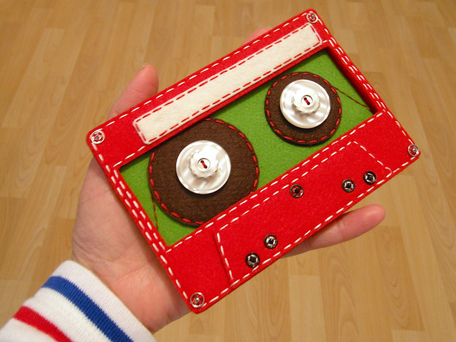 Felt Cassette Tape for TMBG iPhone App