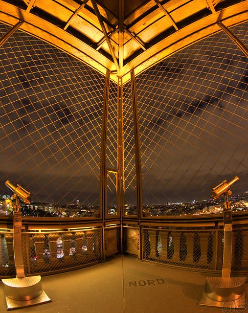 Longue-vue Dame de Fer ( Tour Eiffel / Eiffel Tower ) por MGNess_