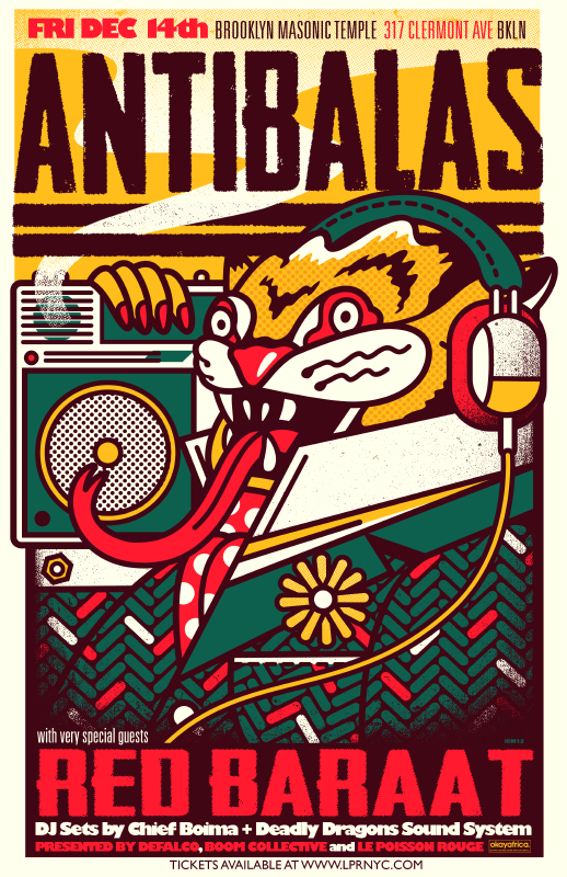 Antibalas, Red Baraat, Chief Boima