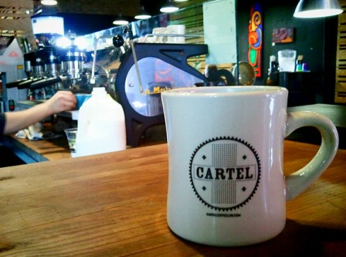 Cartel Coffee mug