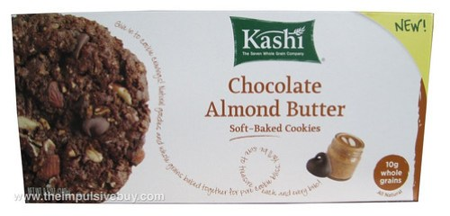 Kashi Chocolate Almond Butter Soft-Baked Cookies