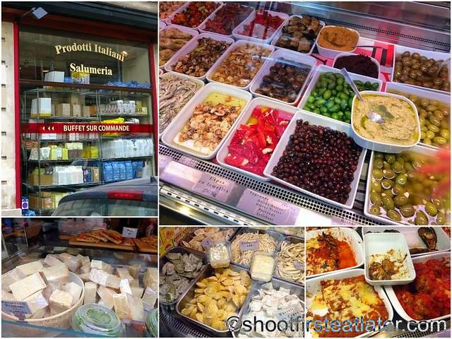 Lenox Montparnasse - restaurants & shops on Rue Delambre-005