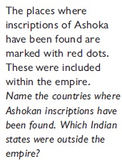NCERT Class VI Social Studies Chapter 8 Ashoka, The Emperor Who Gave Up War Image by AglaSem