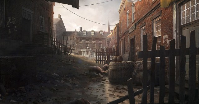 Assassin's Creed III Concept Art