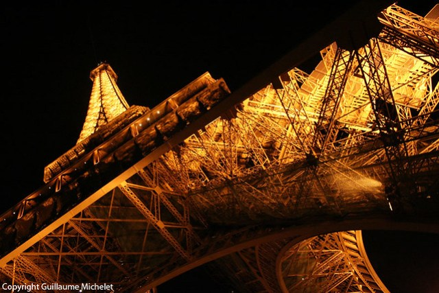 Tour Eiffel por Guillaume Michelet