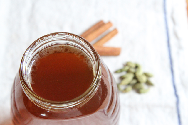 cinnamon cardamom honey