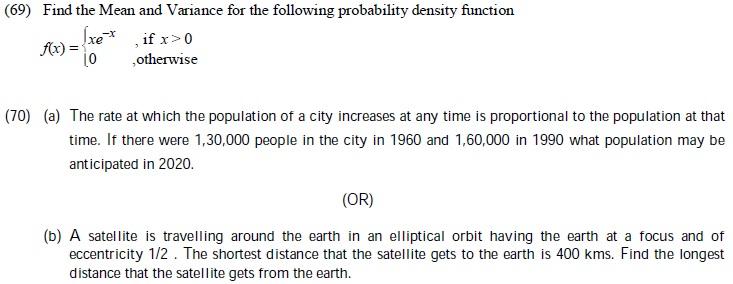 Tamil Nadu State Board Class 12 Model Question Paper   Mathematics Image by AglaSem
