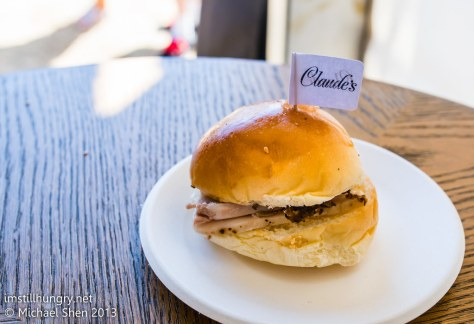 Claude's - Slow Braised Pork Cheek and Black Fungus Relish Roll