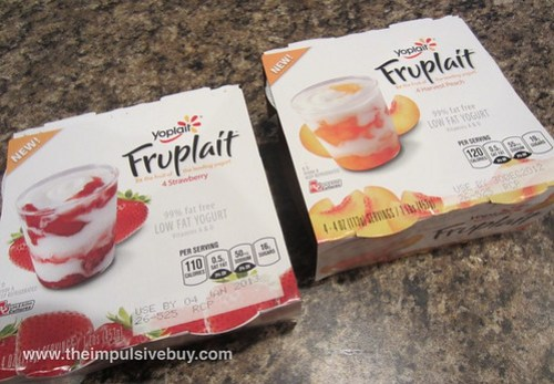 Yoplait Fruplait (Strawberry & Harvest Peach)