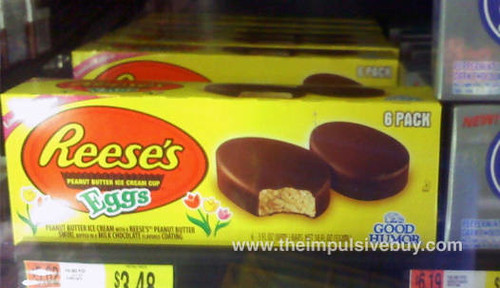 Reese's Eggs Peanut Butter Ice Cream Cup