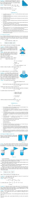 NCERT Class IX Maths Chapter 13 Surfacea Areas and Volumes