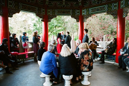 Chinese Pavilion ceremony