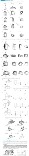 NCERT Class VIII Maths Chapter 10 Visualising Solid Shapes Image by AglaSem