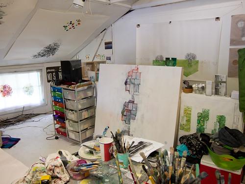 Studio visit with Siobhan Humston-4