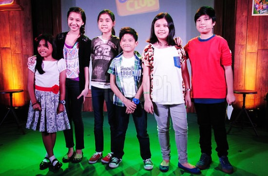 Arkin Magalona and the Multiple Intelligence International School (M.I.I.S.) kids who shared their own kiddie-heroes stories through the