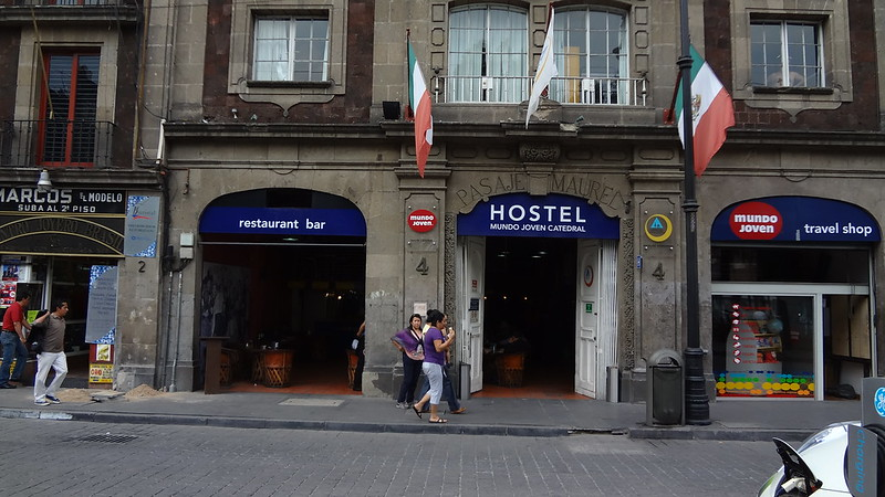 Catedral Hostel ~ Mexico City