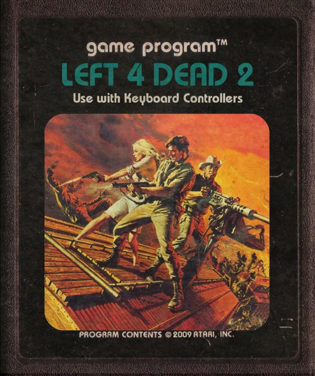 Left 4 Dead 2 Atari Cartridge