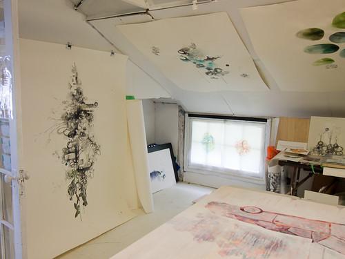 Studio visit with Siobhan Humston-3