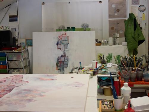 Studio visit with Siobhan Humston-5