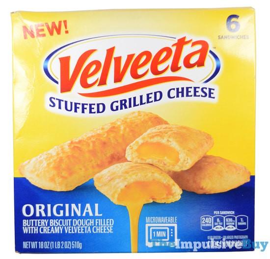 Velveeta Stuffed Grilled Cheese