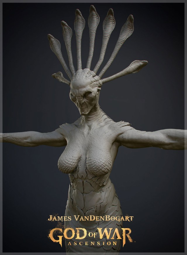 3D Model sculpted in ZBrush