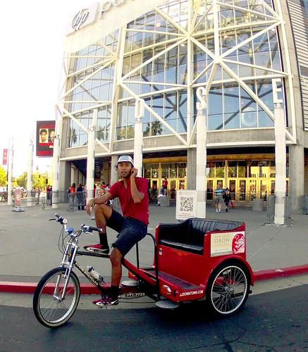 Justin's Rickshaw, HP Pavilion