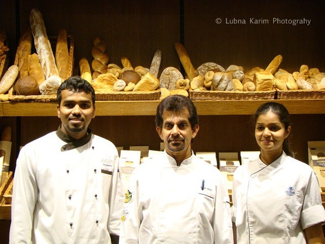 Chef Gerard Mendis with his Team