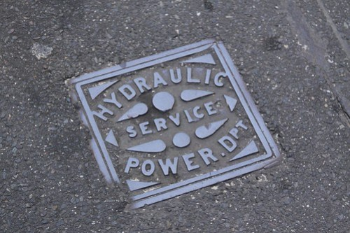 Hydraulic Service Power Department manhole cover