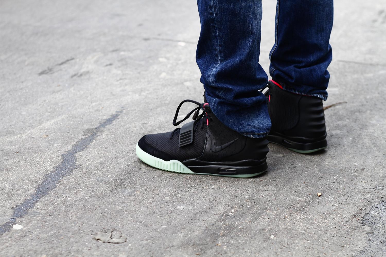 2012_06 Tuukka Laurila Paris Mens Fashion Week Street Style - Nike Air Yeezy II On The Streets of Paris2