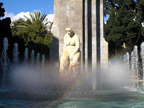 Fecundidad fountain, Parque Garcia Sanabria, Santa Cruz