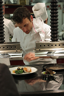 chef at Alain Ducasse