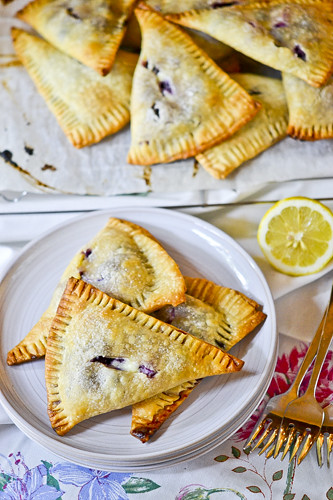 Blueberry-Cream Cheese Hand Pies 6