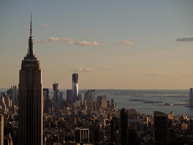 Empire State Building + WTC